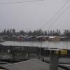 Cerrillos de Tamaya se convirtió en un lago con las lluvias