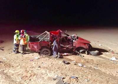 Al menos dos muertos en accidente automovilístico en Antofagasta