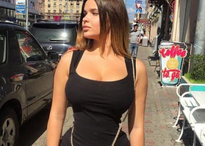 Mujer bonita muy rusa