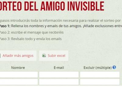 Amigo Secreto Online Mira Sitios Para Hacer El Sorteo Del Amigo